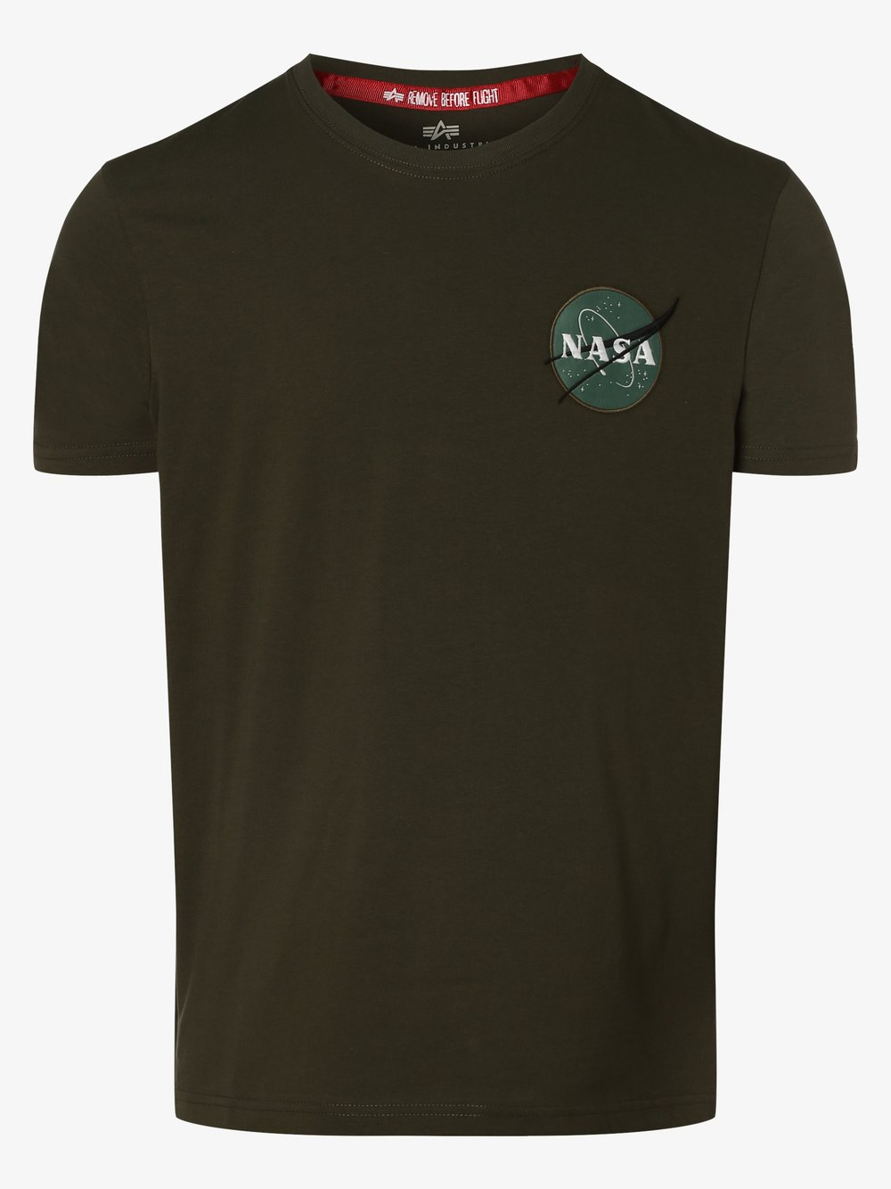 Alpha Industries – T-shirt męski, zielony Van Graaf 431907-0006-09920