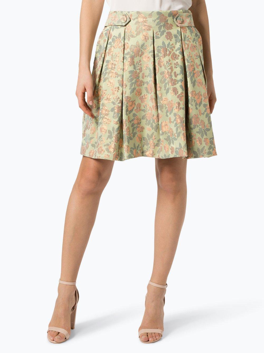 IPURI – Spódnica damska, zielony Van Graaf 432142-0001-00440