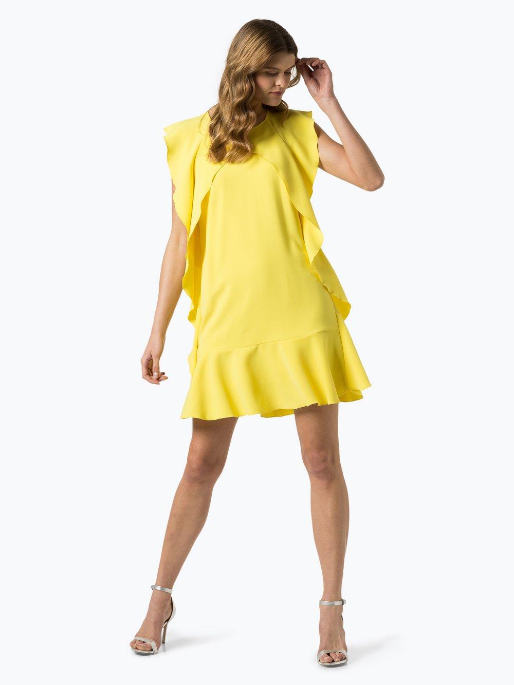 IPURI – Sukienka damska, żółty Van Graaf 432148-0001-00380