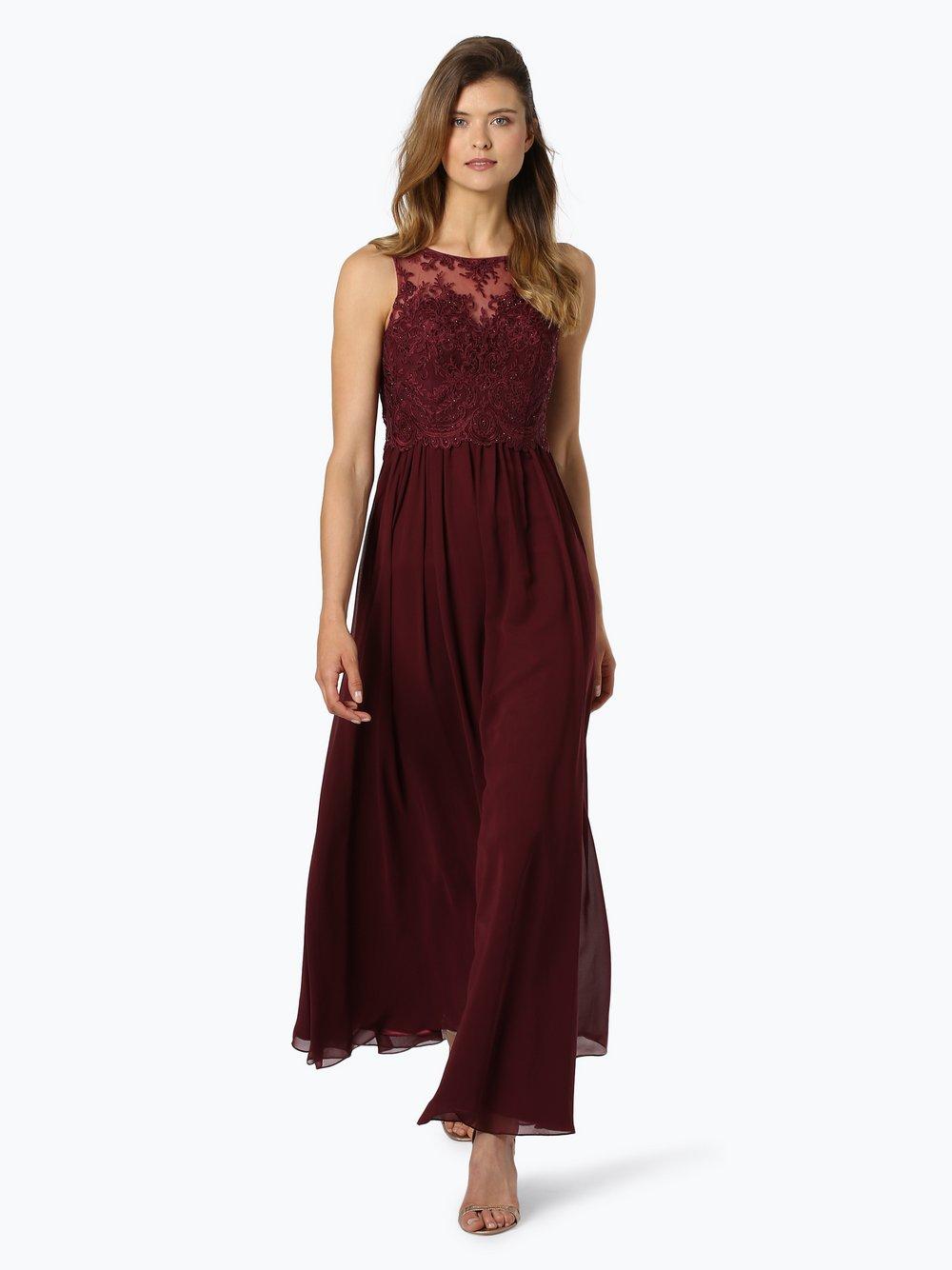 Laona – Damska sukienka wieczorowa, czerwony Van Graaf 432627-0004-09920