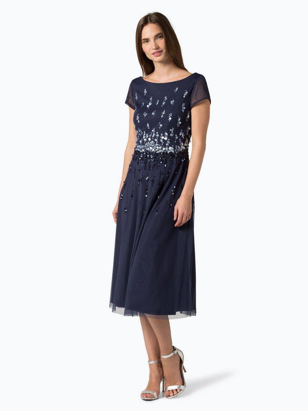 Vera Mont Collection - Damska sukienka wieczorowa, niebieski