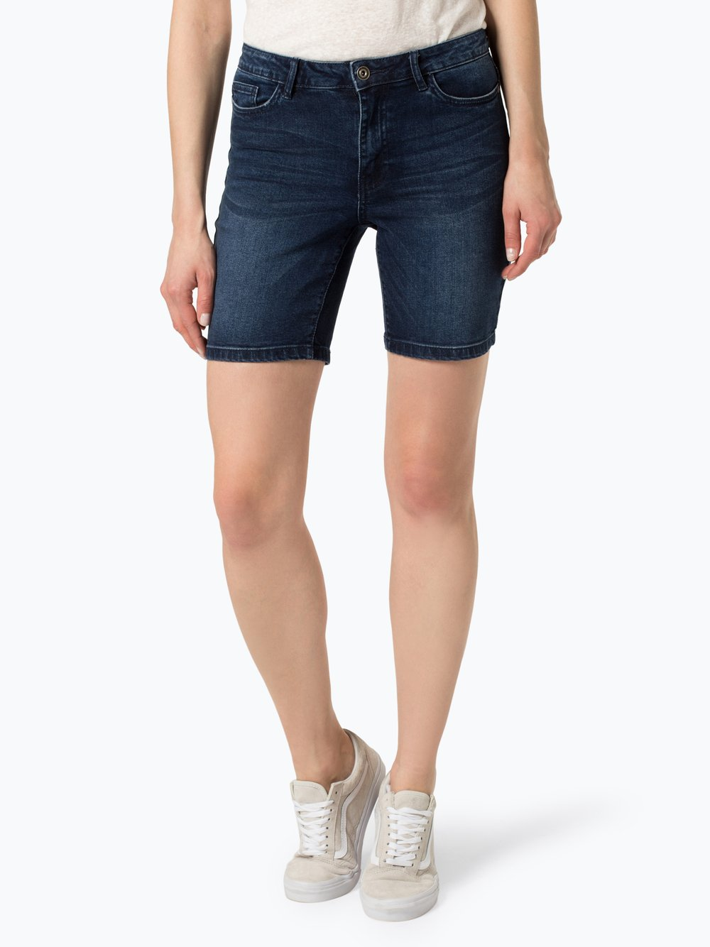 ONLY - Damskie krótkie spodenki jeansowe – Corin, niebieski