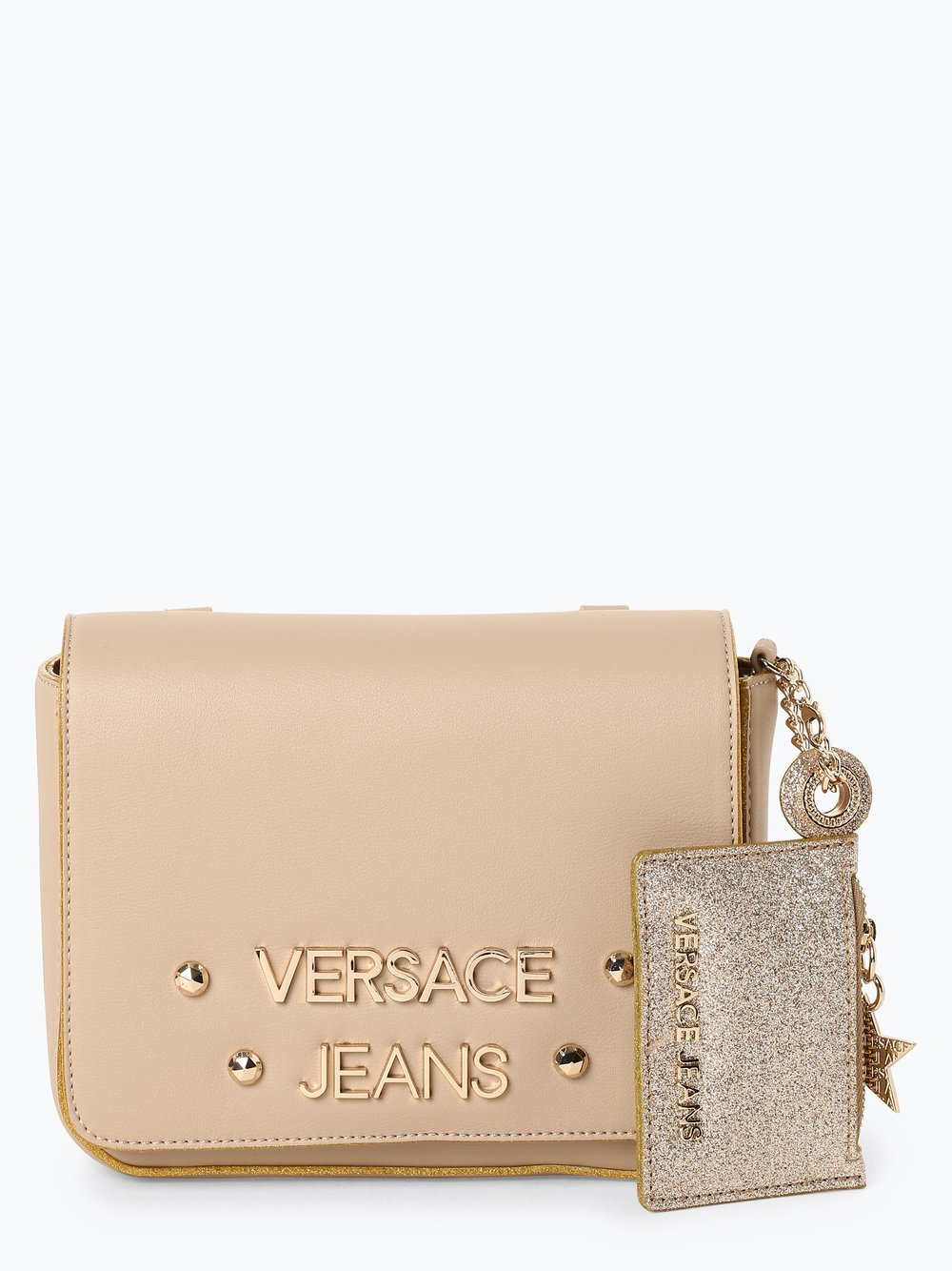 Versace  Jeans - Damska torebka na ramię, beżowy Versace  Jeans