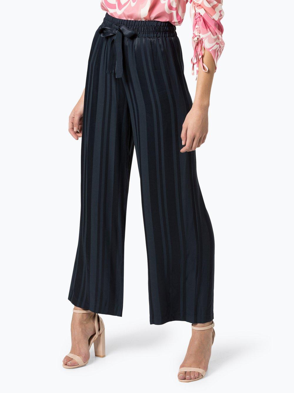 Y.A.S – Spodnie damskie, niebieski Van Graaf 434214-0001