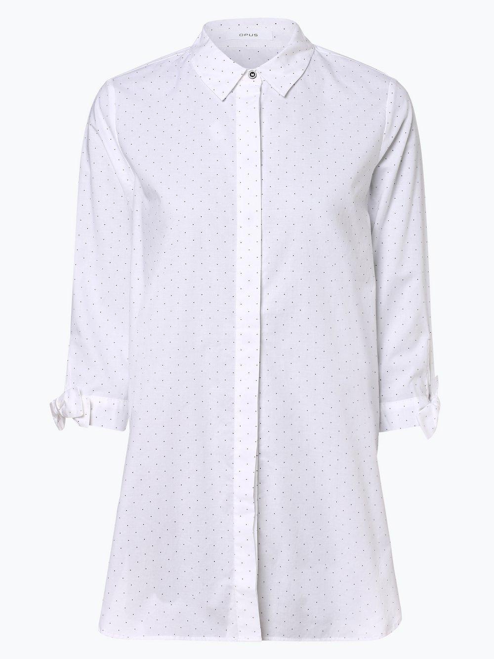 Opus - Bluzka damska – Fiani, biały