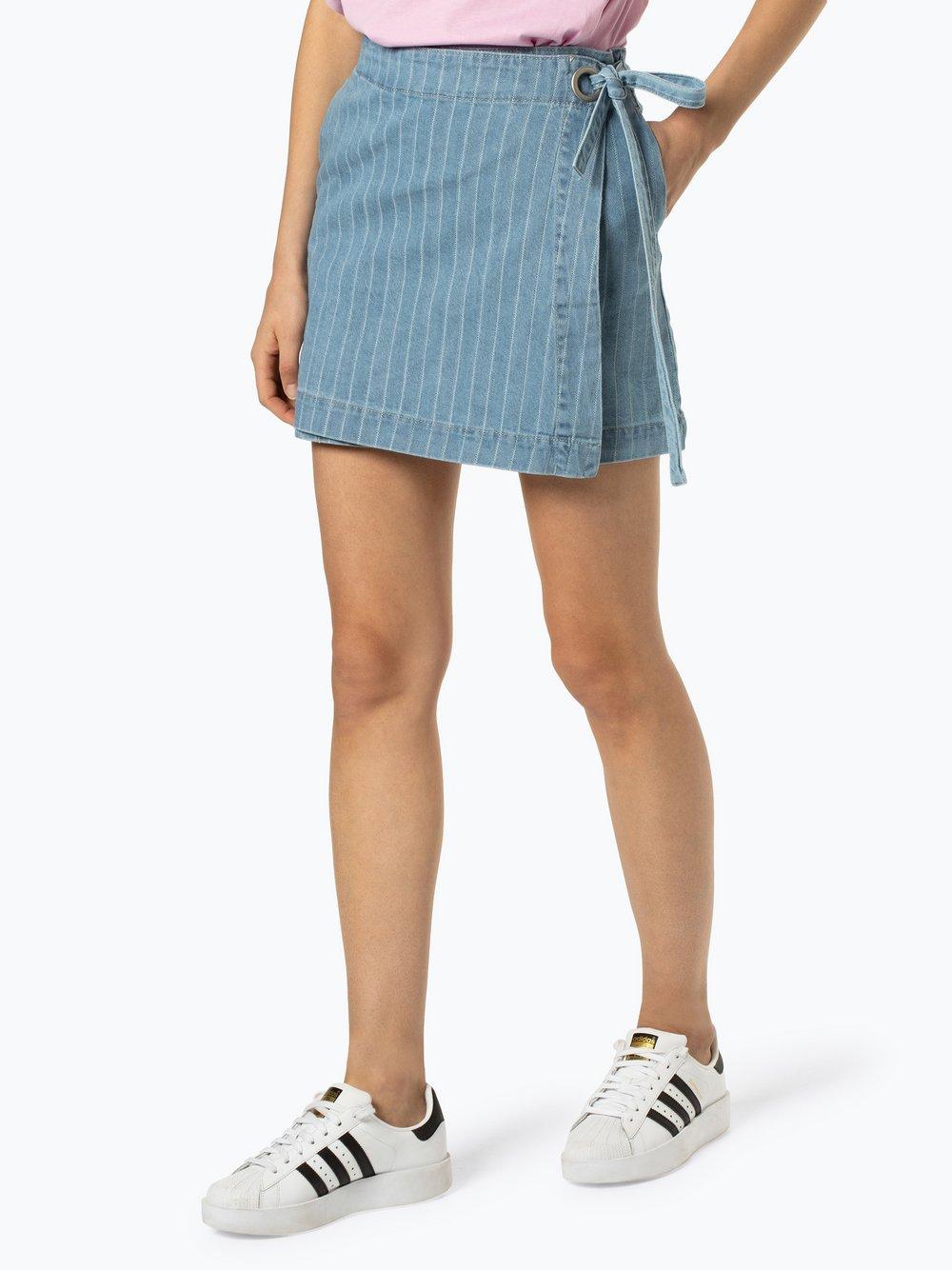 Review - Jeansowa spódnica damska, niebieski
