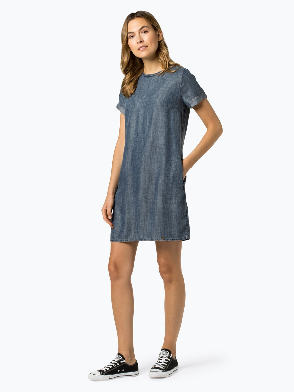 Superdry - Sukienka damska, niebieski