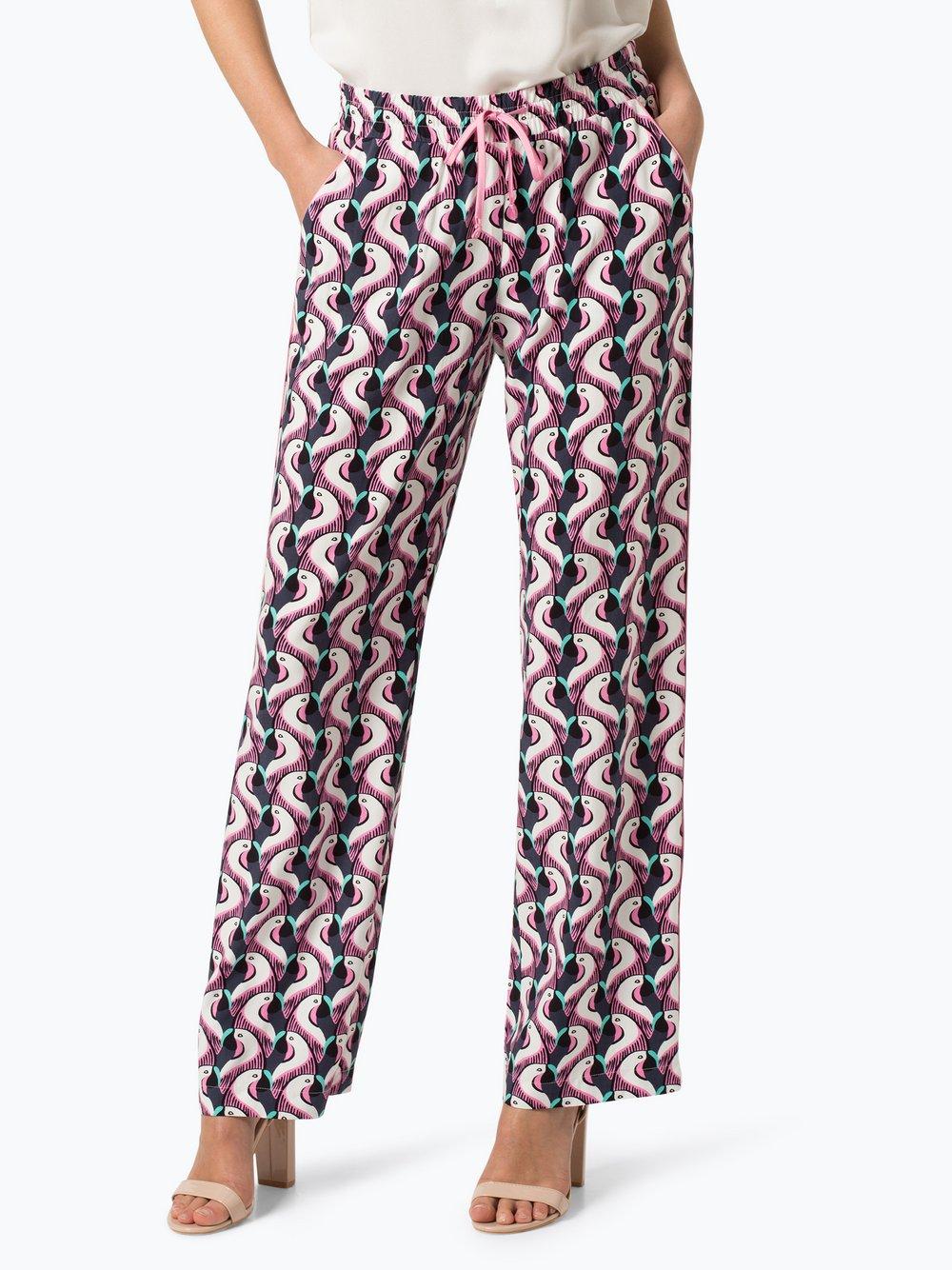 Lieblingsstück – Spodnie damskie, niebieski Van Graaf 435558-0001-00380
