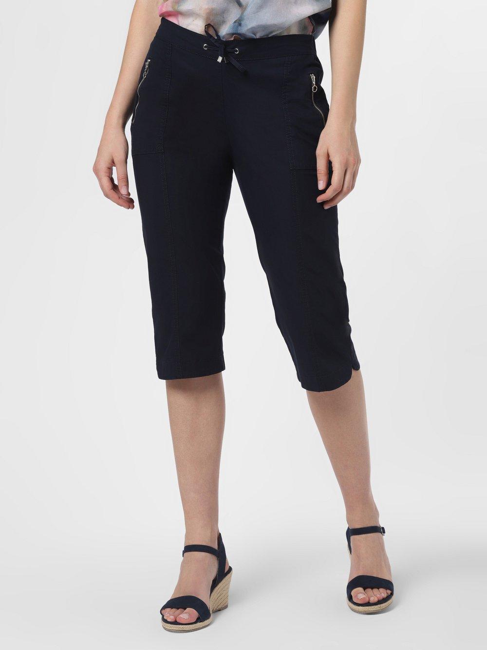 TONI – Spodnie damskie – Mia, niebieski Van Graaf 435607-0005-00480