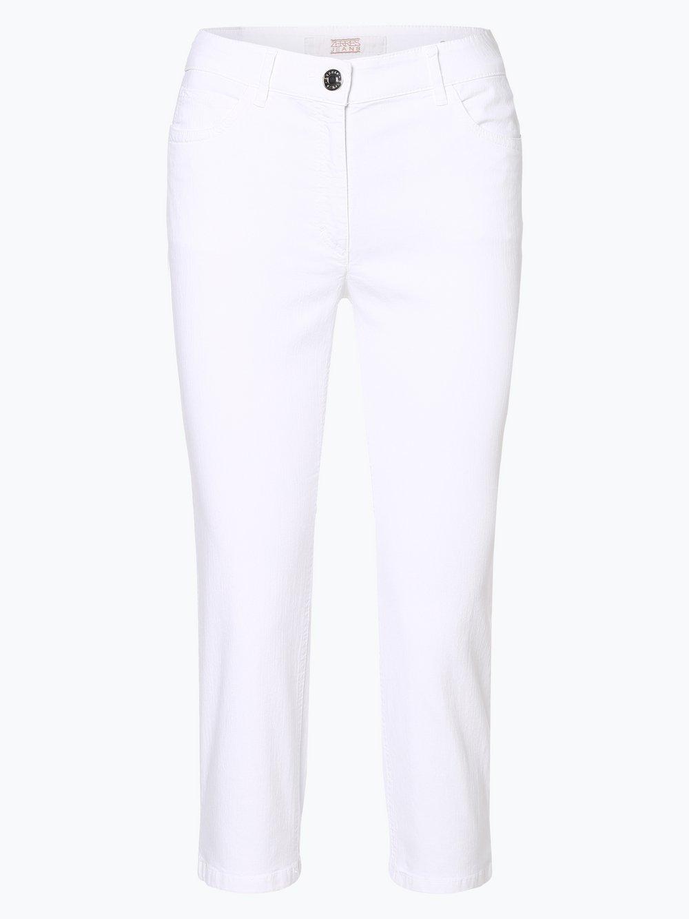 Zerres - Spodnie damskie, biały