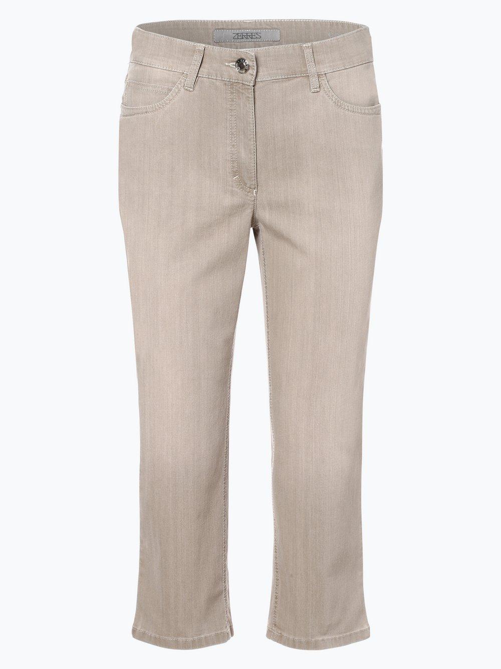 Zerres - Spodnie damskie, zielony