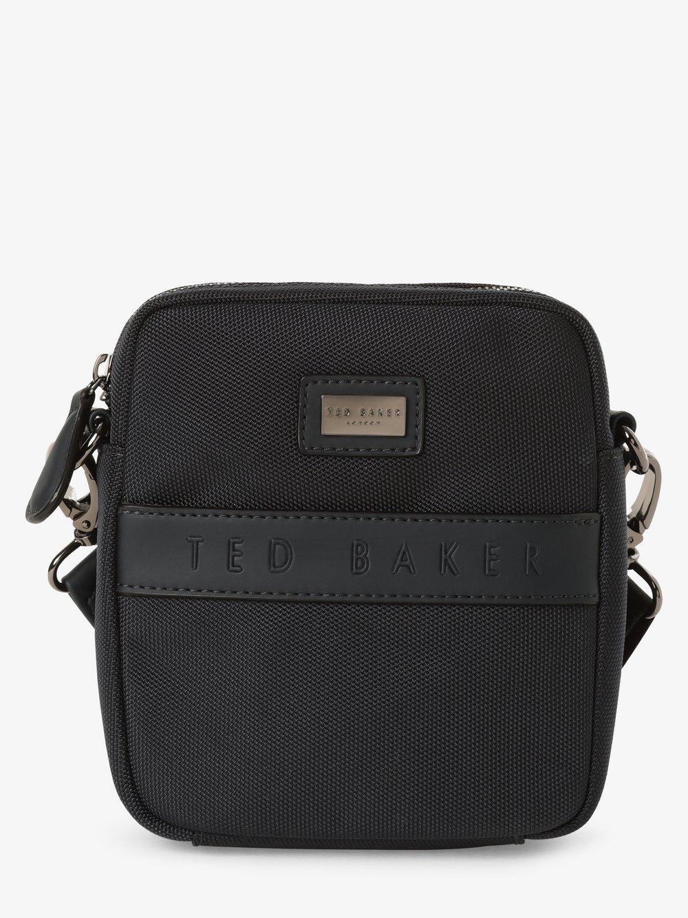 Ted Baker – Męska torebka na ramię – Lillo, niebieski Van Graaf 436019-0001-00000