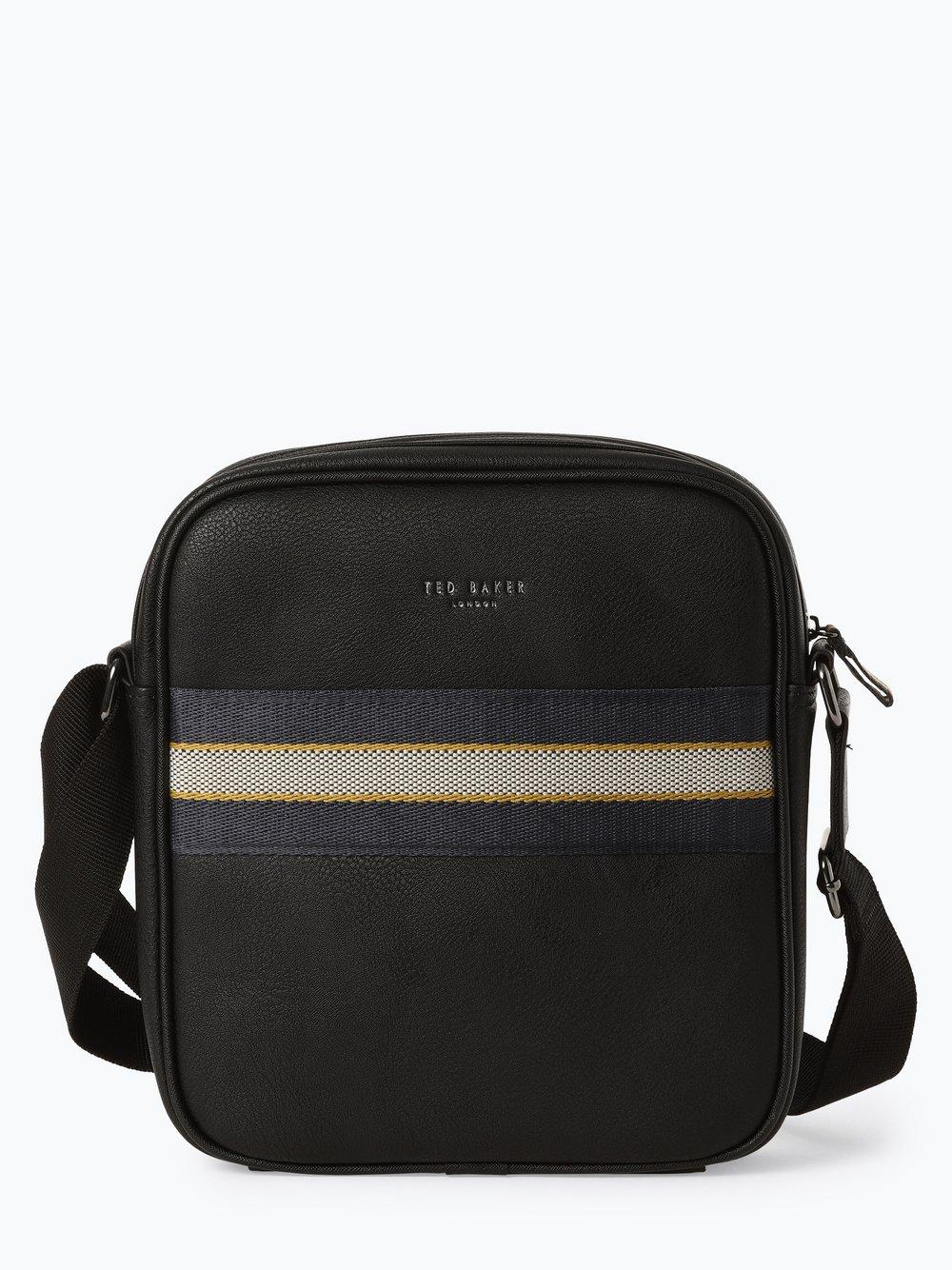 Ted Baker – Męska torebka na ramię, czarny Van Graaf 436020-0001