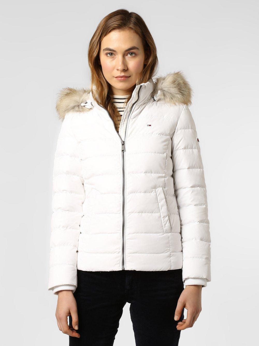 Tommy Jeans - Damska kurtka puchowa, biały