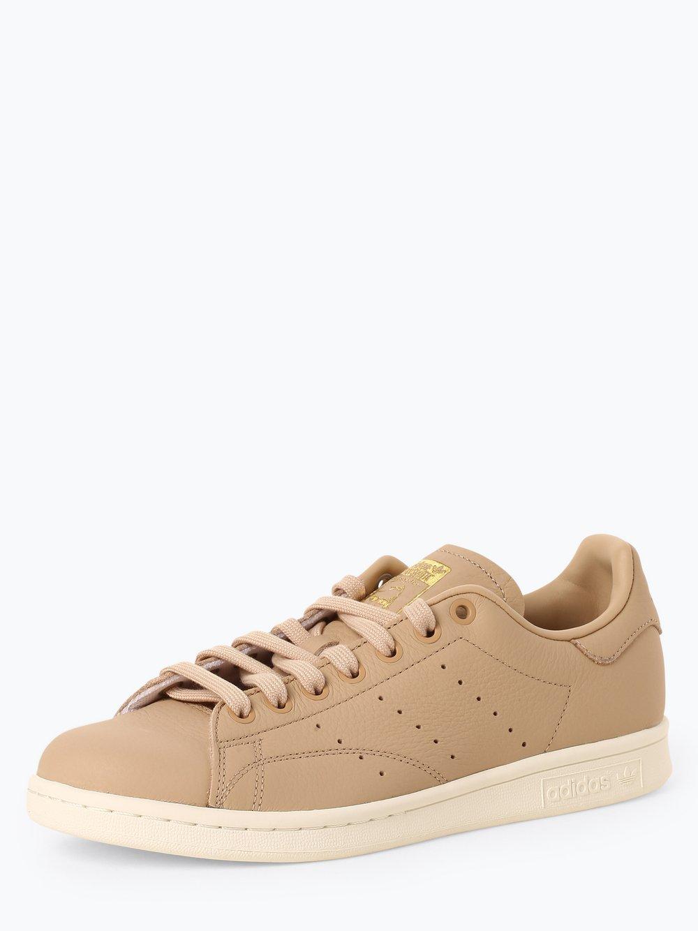 Obraz przedstawiający adidas Originals - Damskie tenisówki ze skóry – Stan Smith, beżowy