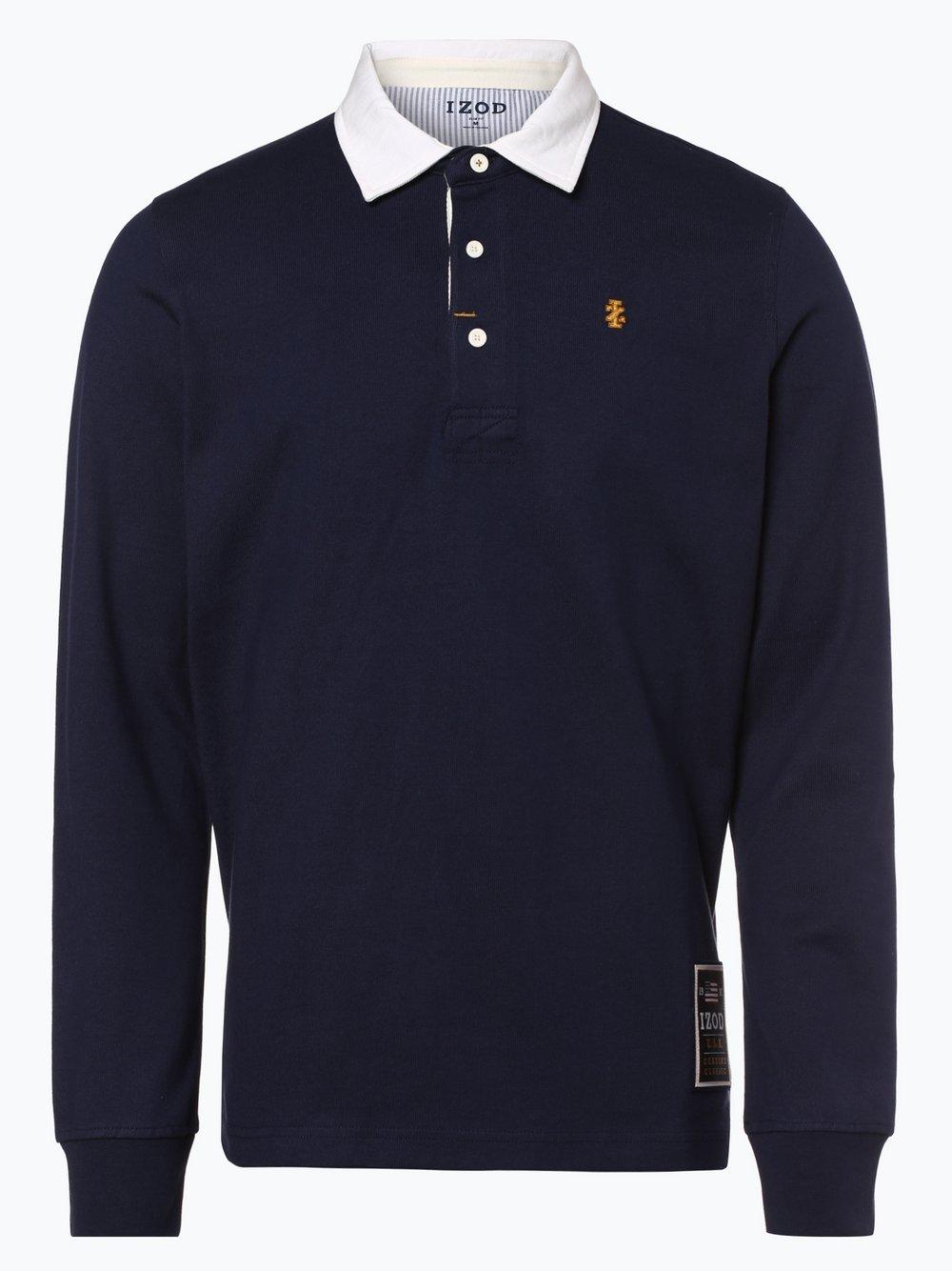 IZOD - Męska bluza nierozpinana, niebieski