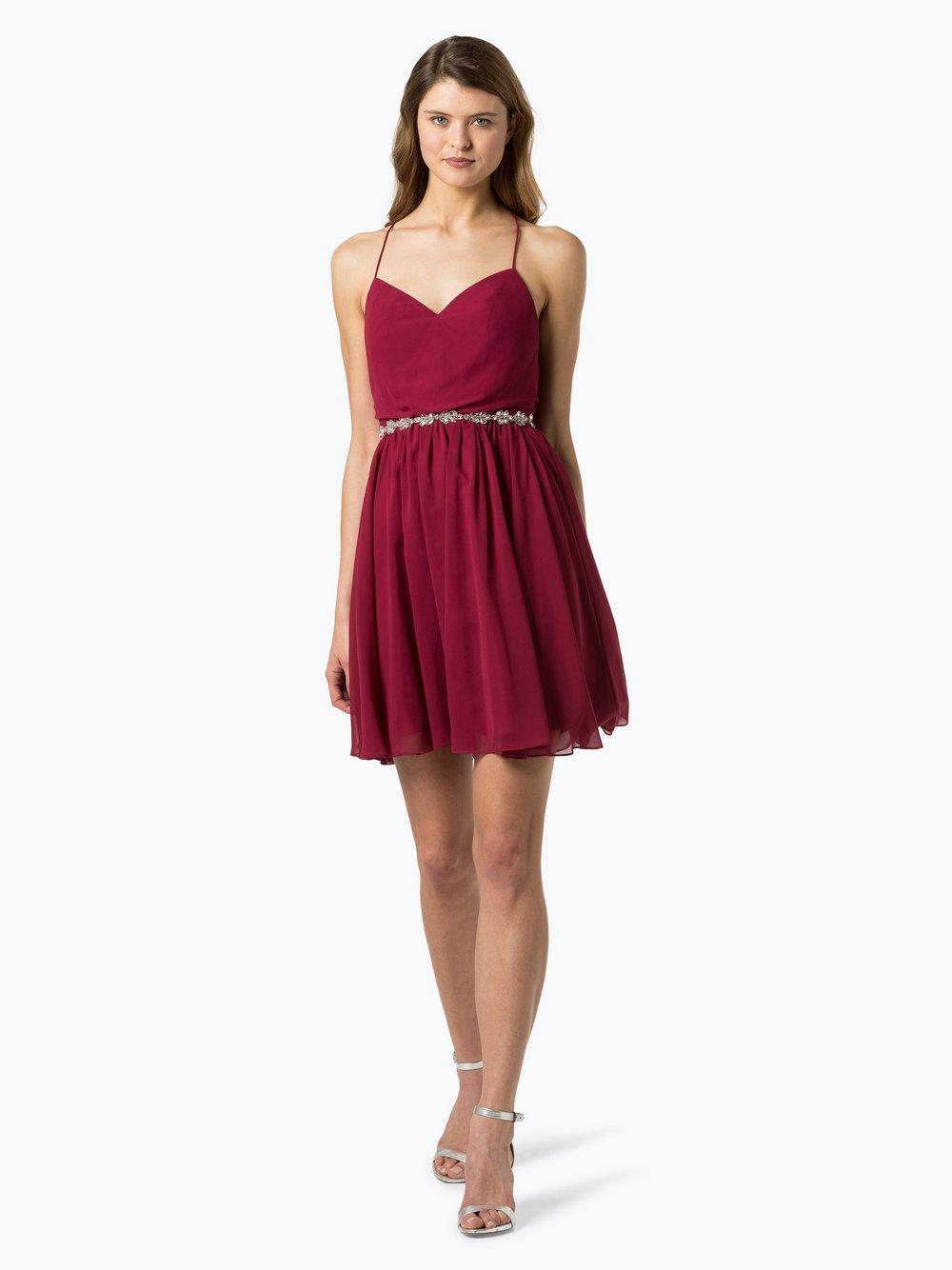 Laona – Damska sukienka wieczorowa, czerwony Van Graaf 437552-0001