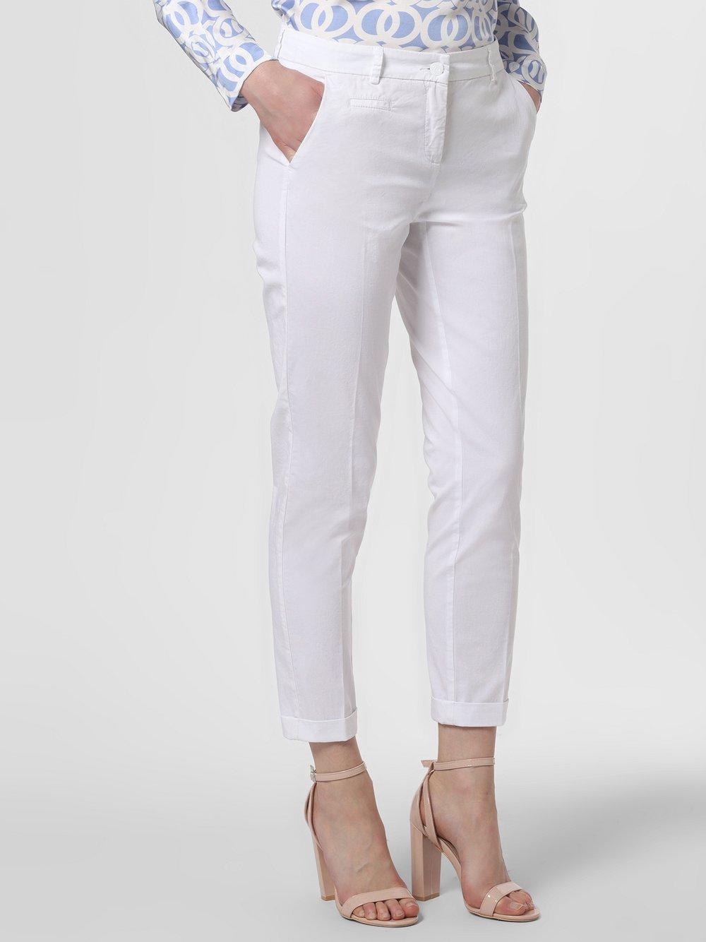 Cambio - Spodnie damskie – Stella, biały