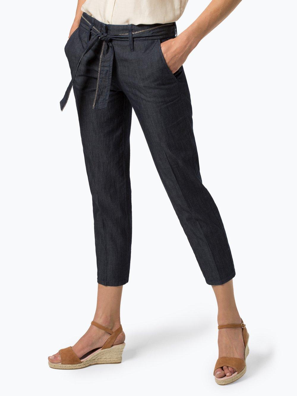 Cambio - Spodnie damskie – Kaia, niebieski Cambio