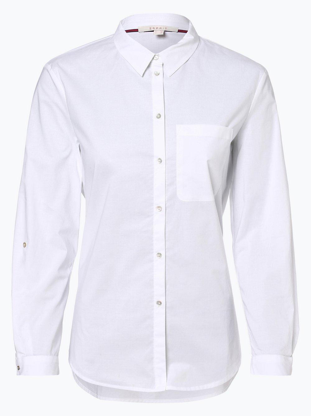 Esprit Casual - Bluzka damska, biały