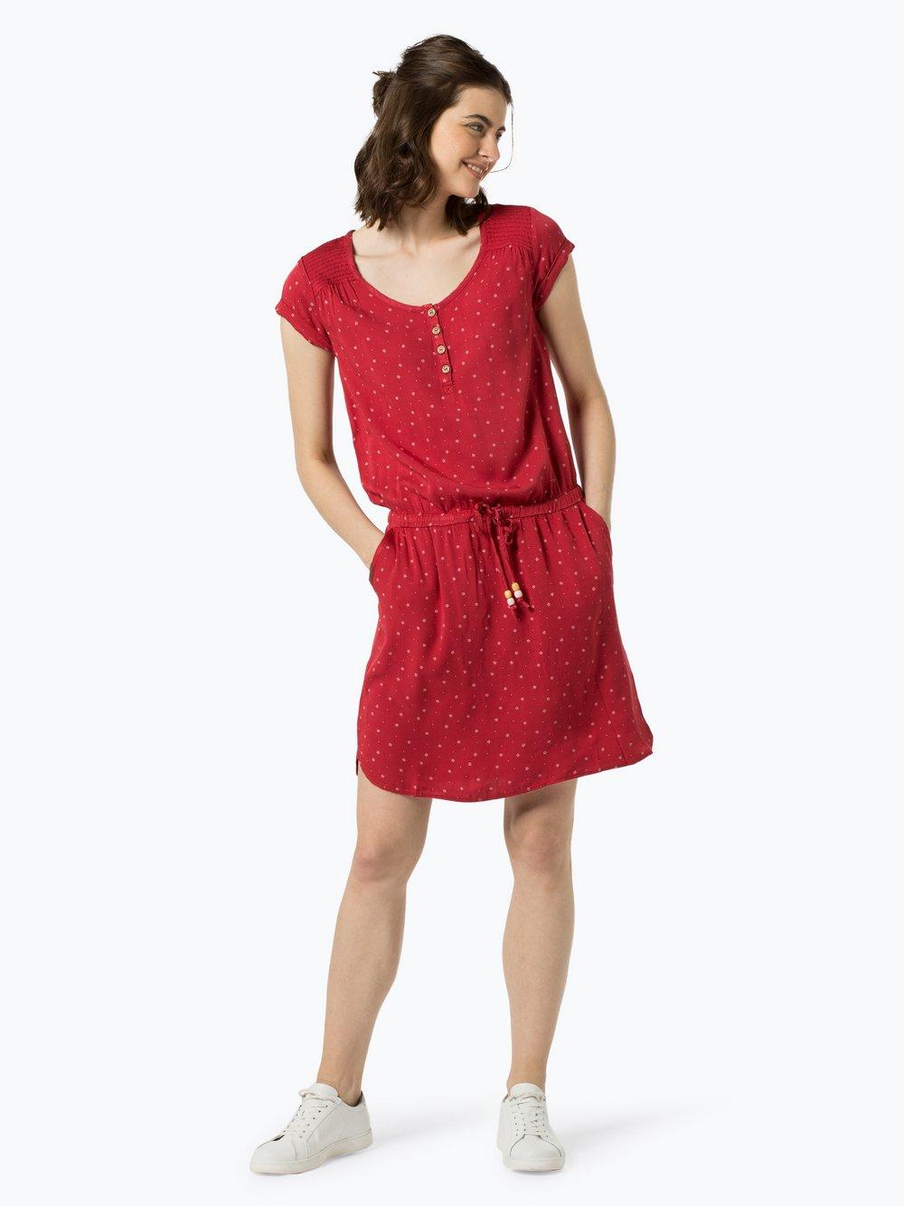 Ragwear – Sukienka damska – Danila, czerwony Van Graaf 438105-0001-09900