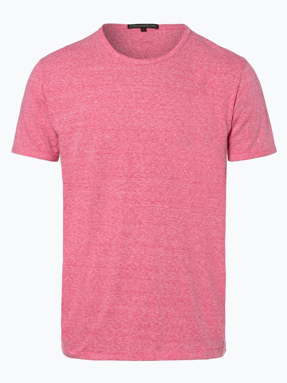 Drykorn - T-shirt męski – Nero, czerwony