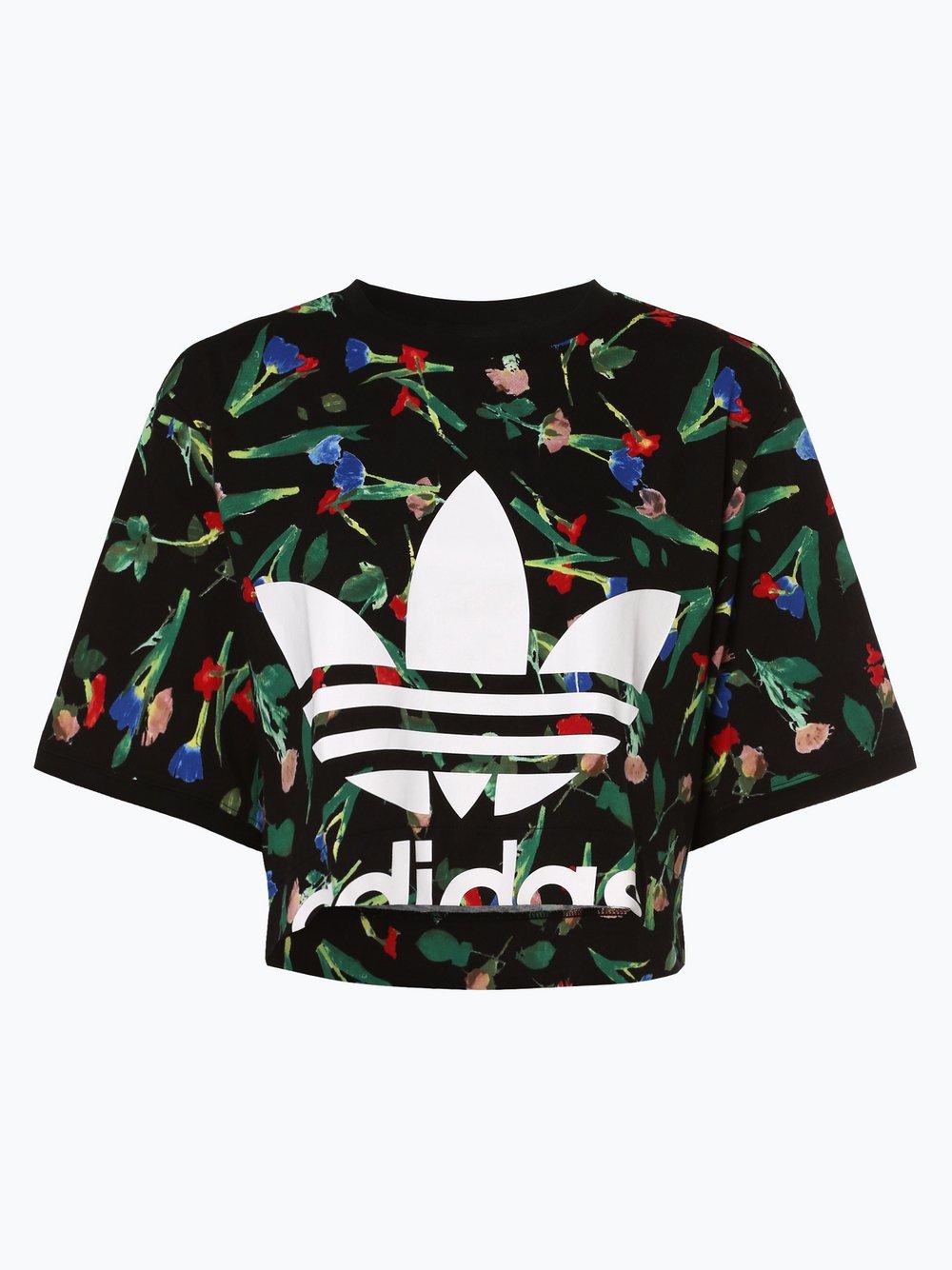 adidas Originals - T-shirt damski, czarny