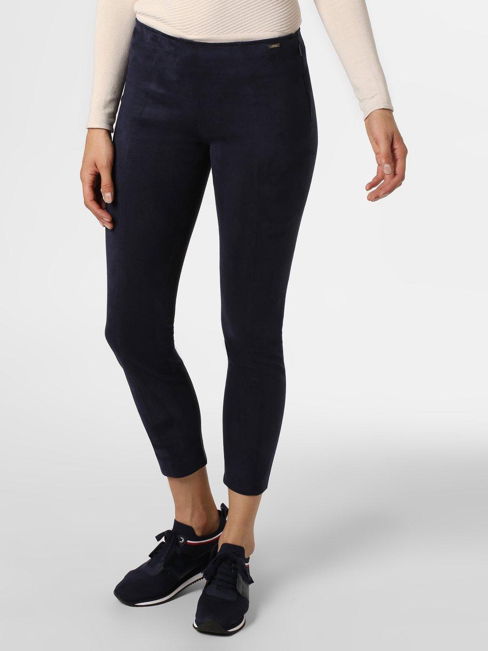 Armani Exchange - Spodnie damskie, niebieski