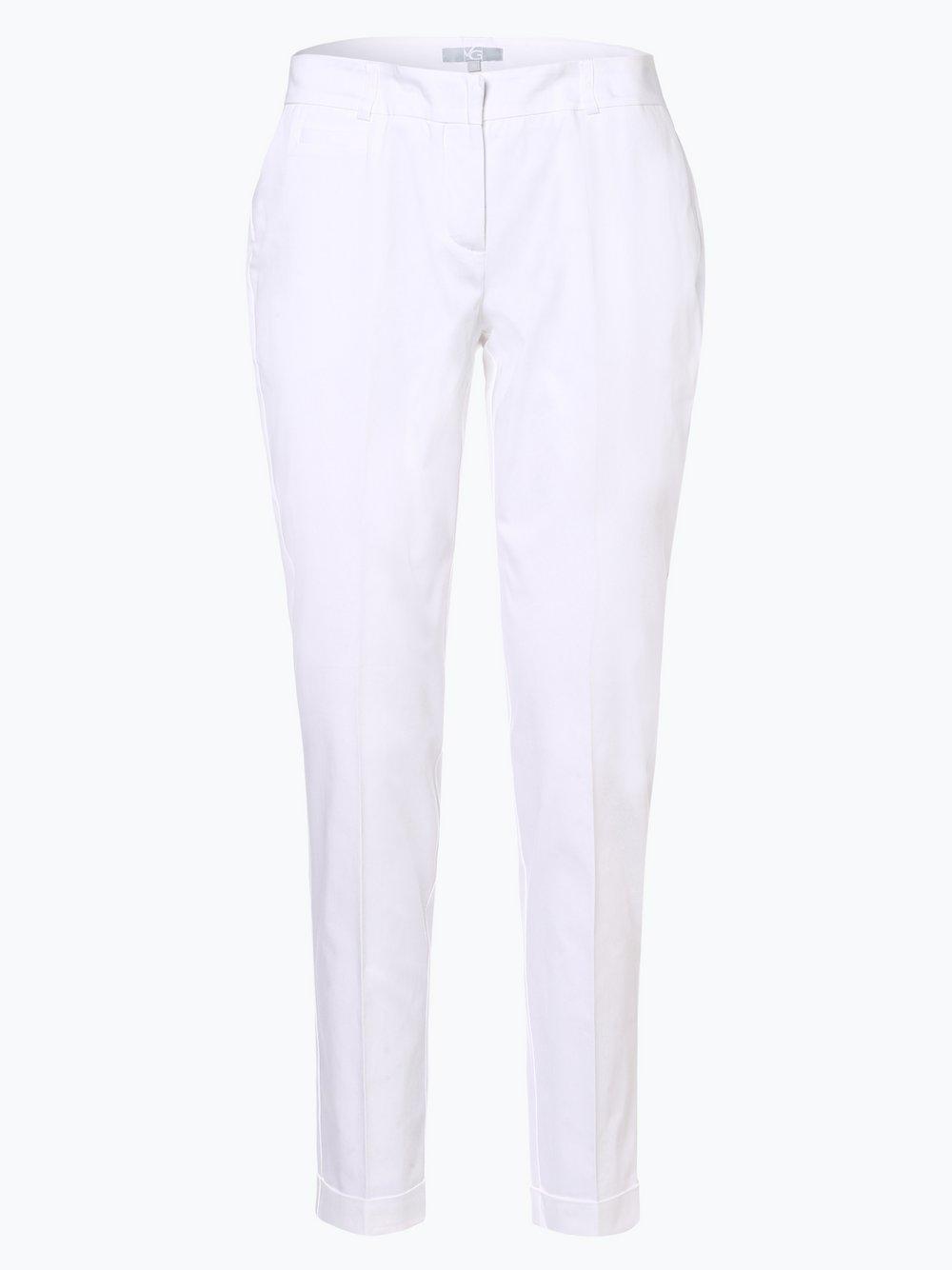 VG – Spodnie damskie, biały Van Graaf 439628-0004-00440