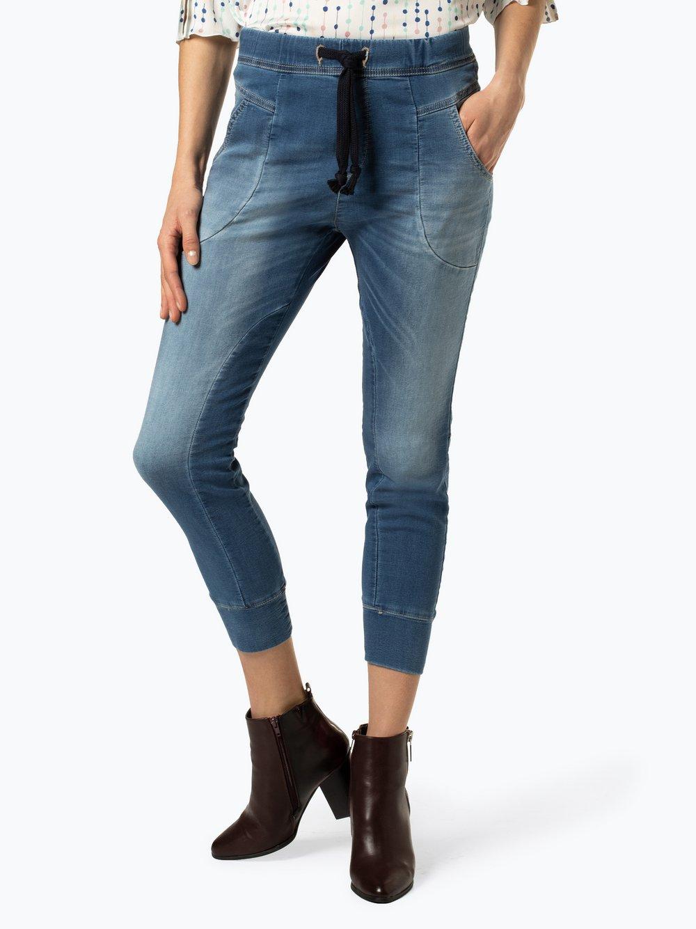 Please - Spodnie damskie, niebieski