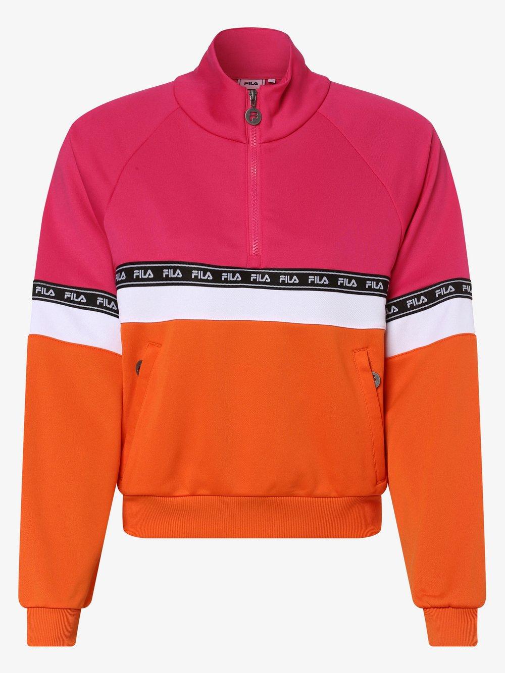 FILA - Damska bluza nierozpinana – Chinami, różowy