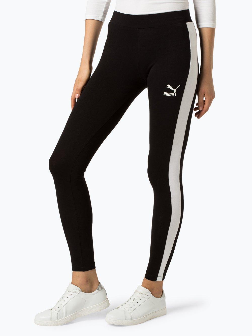 Puma - Sportowe legginsy damskie, czarny