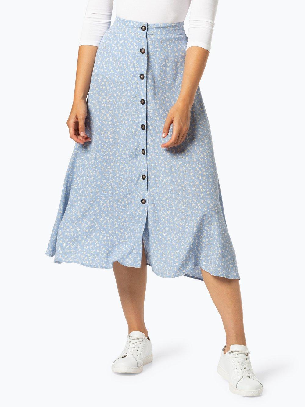 Y.A.S – Spódnica damska – Yasmau, niebieski Van Graaf 440044-0001-09920