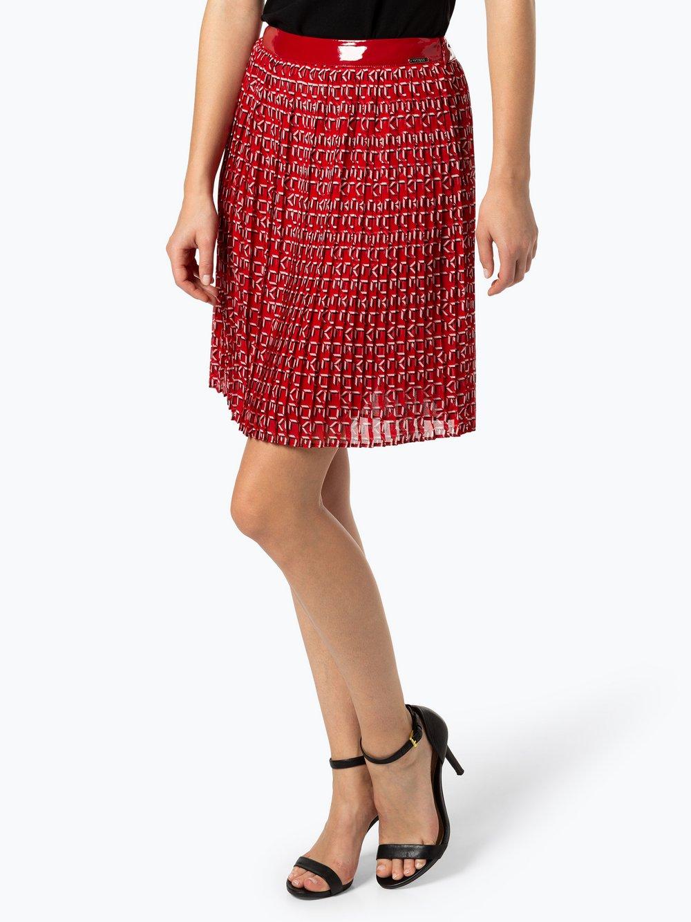 Guess Jeans - Spódnica damska, czerwony