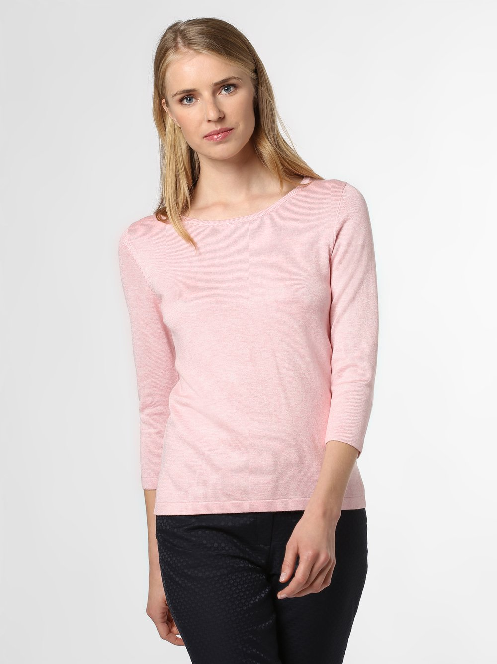 Marie Lund - Sweter damski, różowy