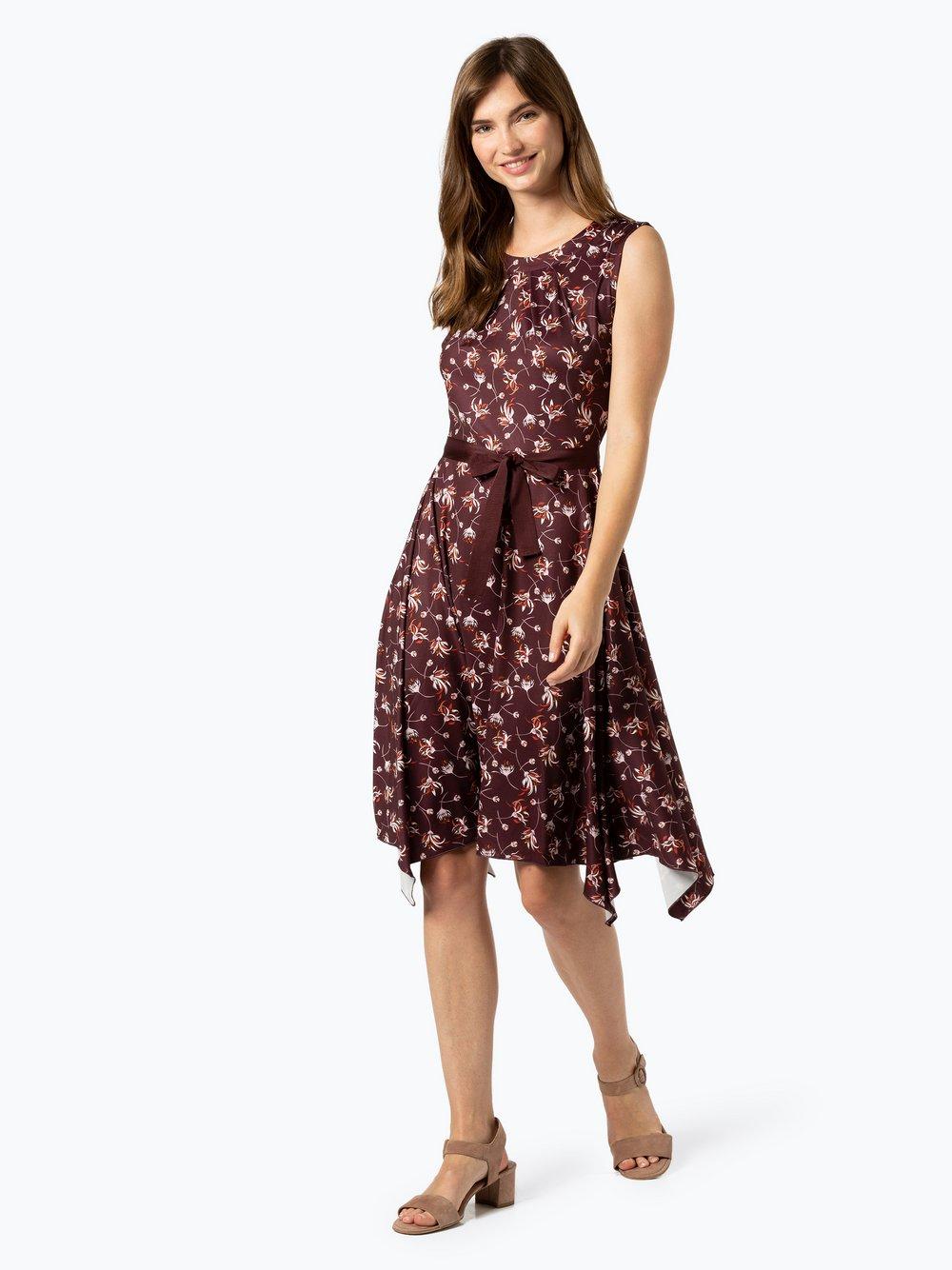Taifun - Sukienka damska, czerwony