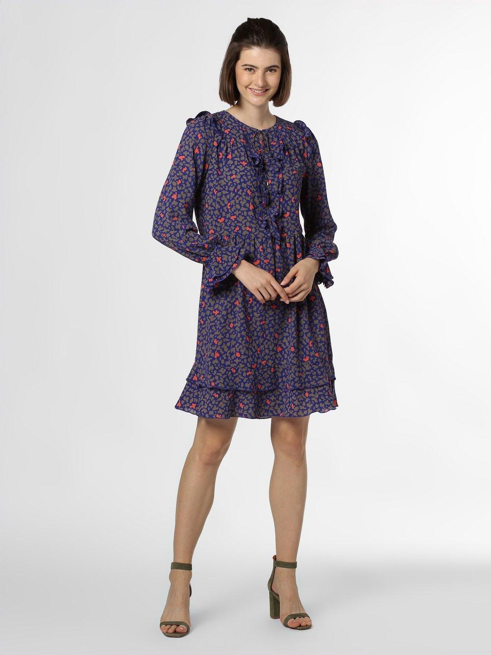 Marc Cain Collections - Sukienka damska, niebieski