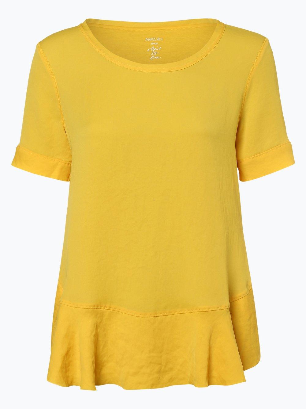 Marc Cain Collections – Bluzka damska, żółty Van Graaf 440497-0001-00420