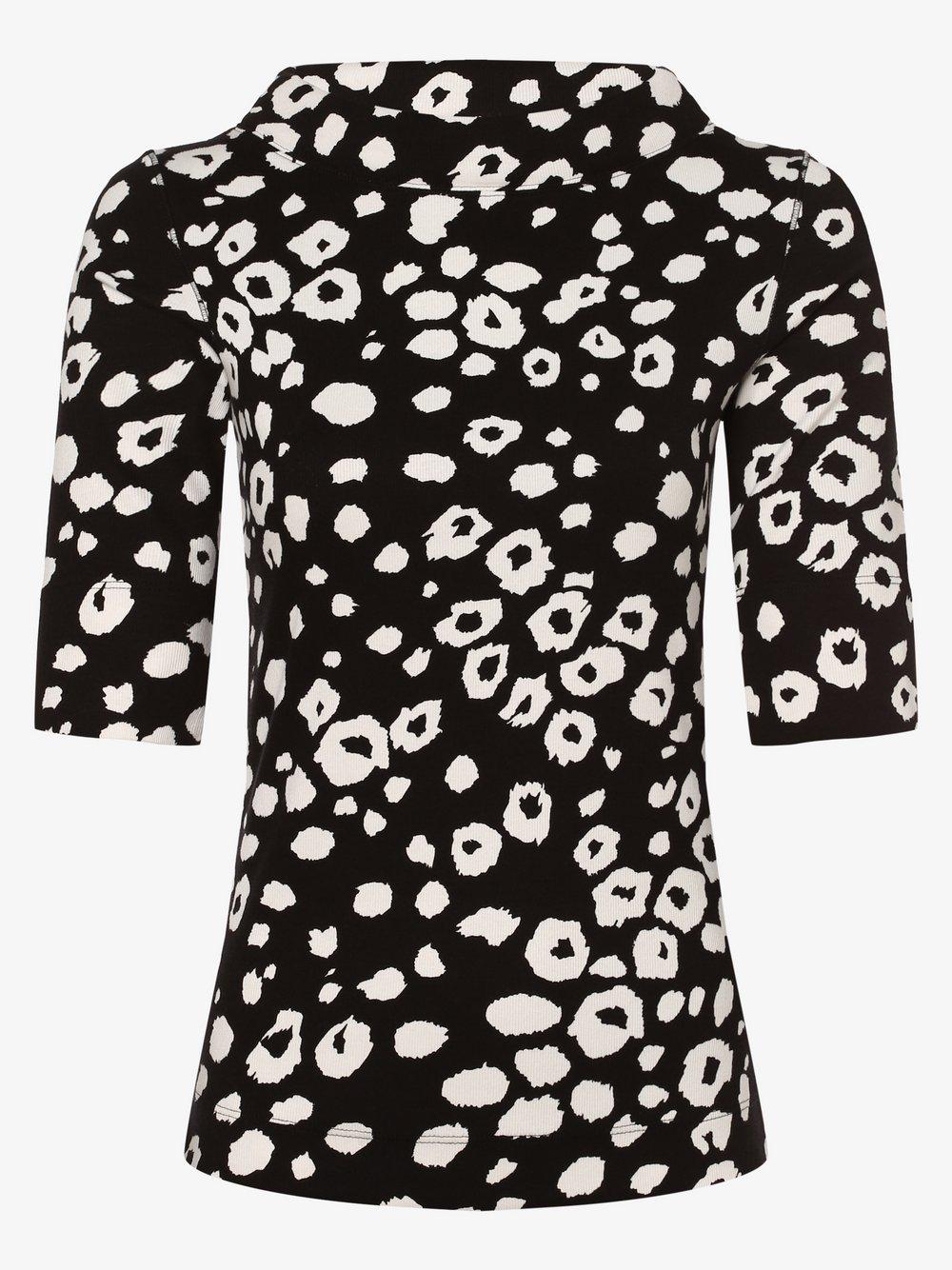 Marc Cain Collections – Koszulka damska, czarny Van Graaf 440530-0001