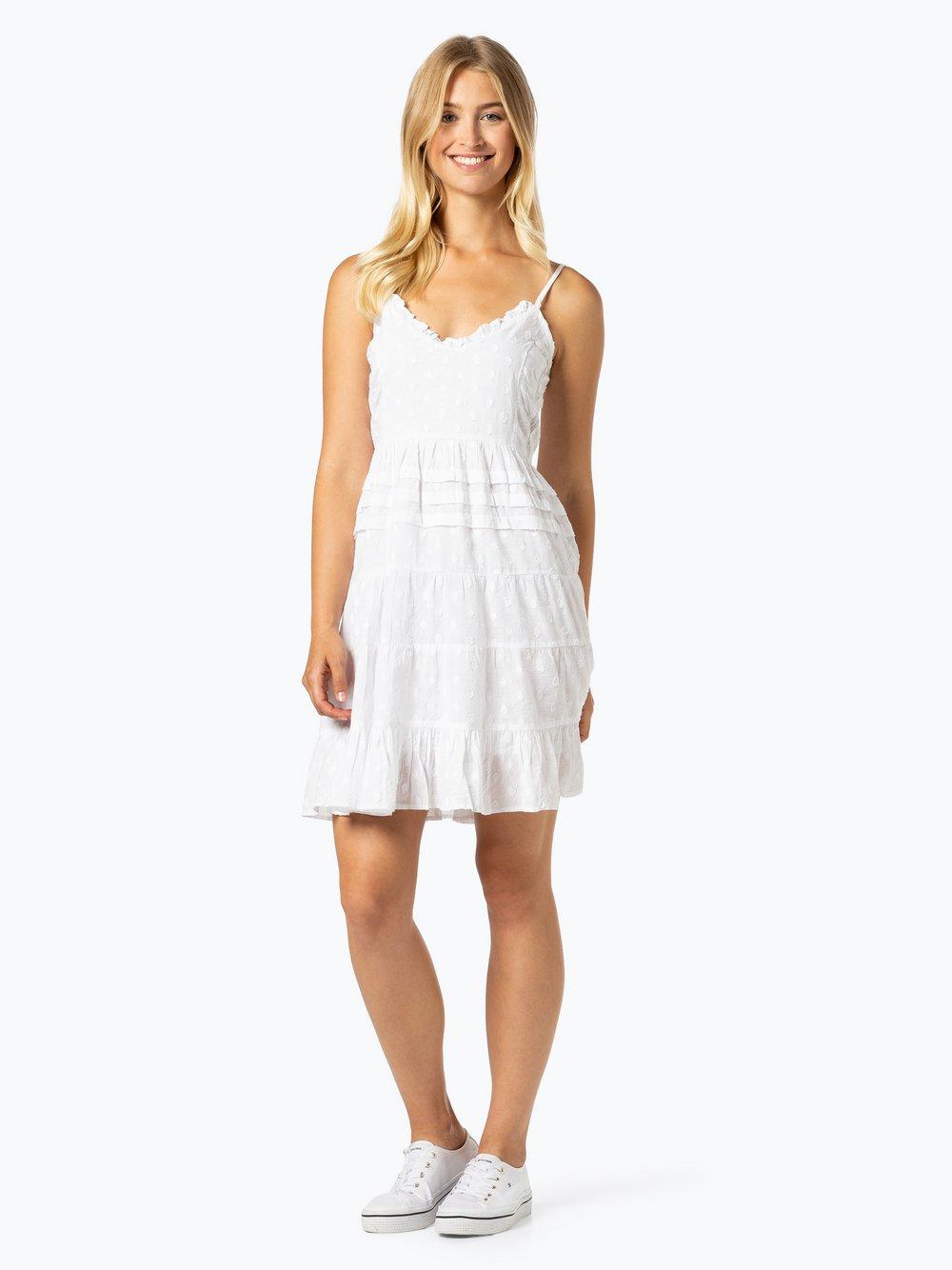 NA-KD – Sukienka damska, biały Van Graaf 440745-0001-00340