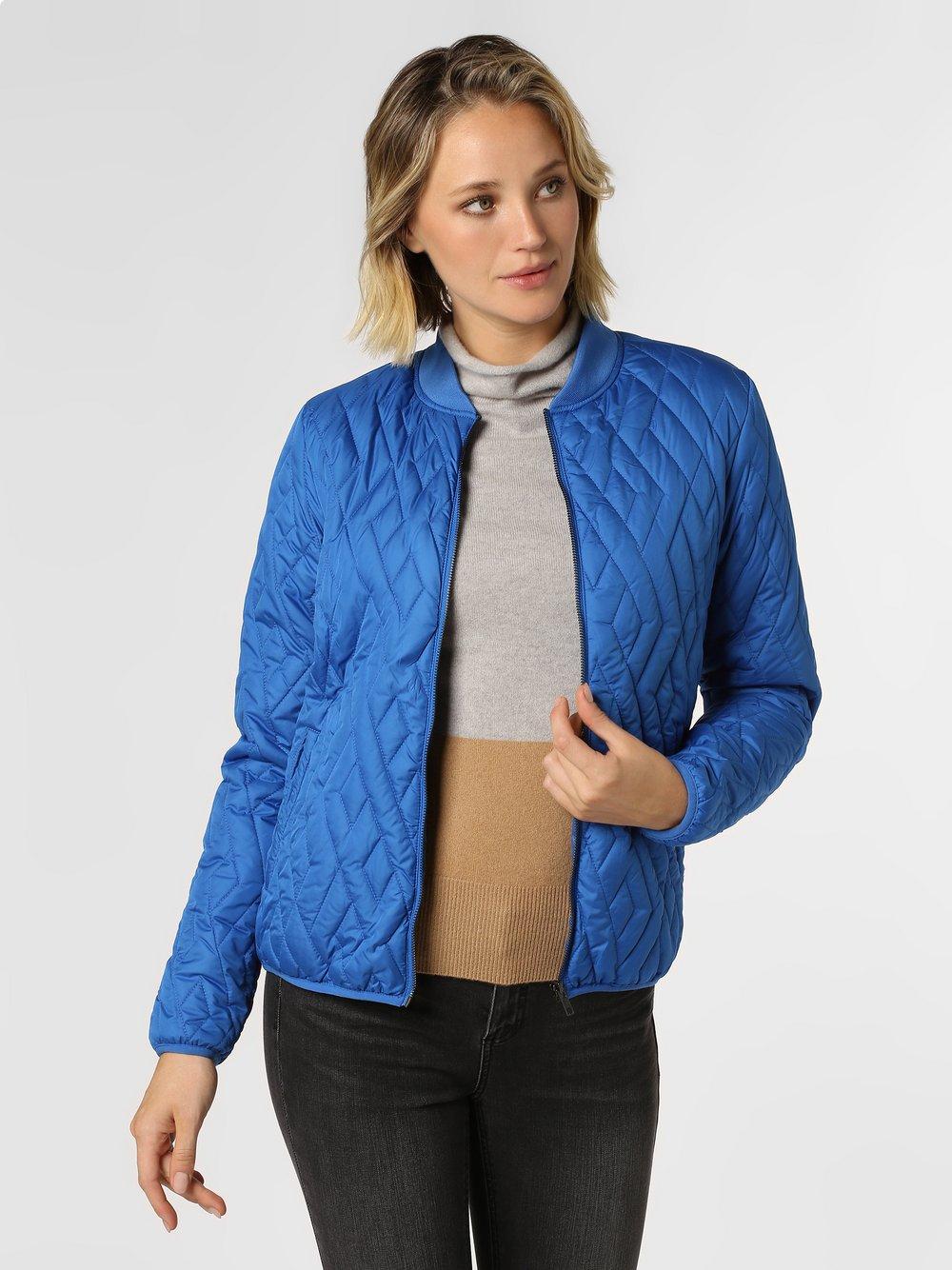 soyaconcept® – Damska kurtka pikowana – Fenya, niebieski Van Graaf 441137-0001