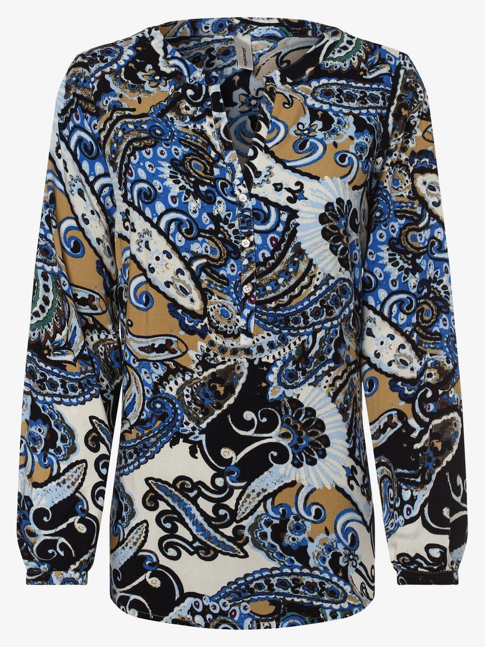 soyaconcept® – Bluzka damska – Azra, niebieski Van Graaf 441142-0001-09940