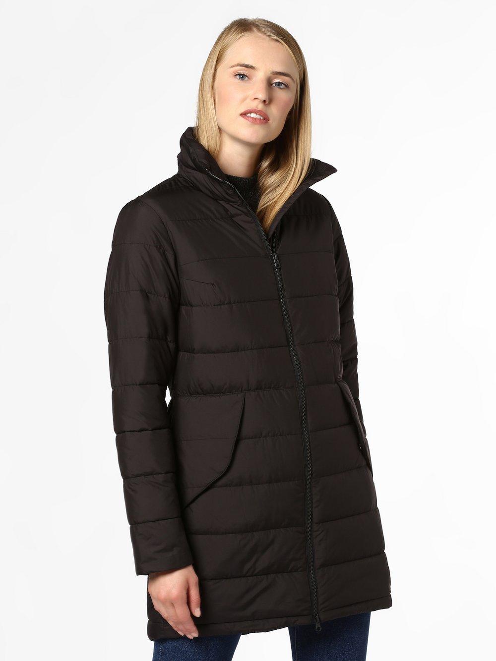 Didriksons – Damski płaszcz funkcyjny – Hildur, czarny Van Graaf 441444-0001-00440