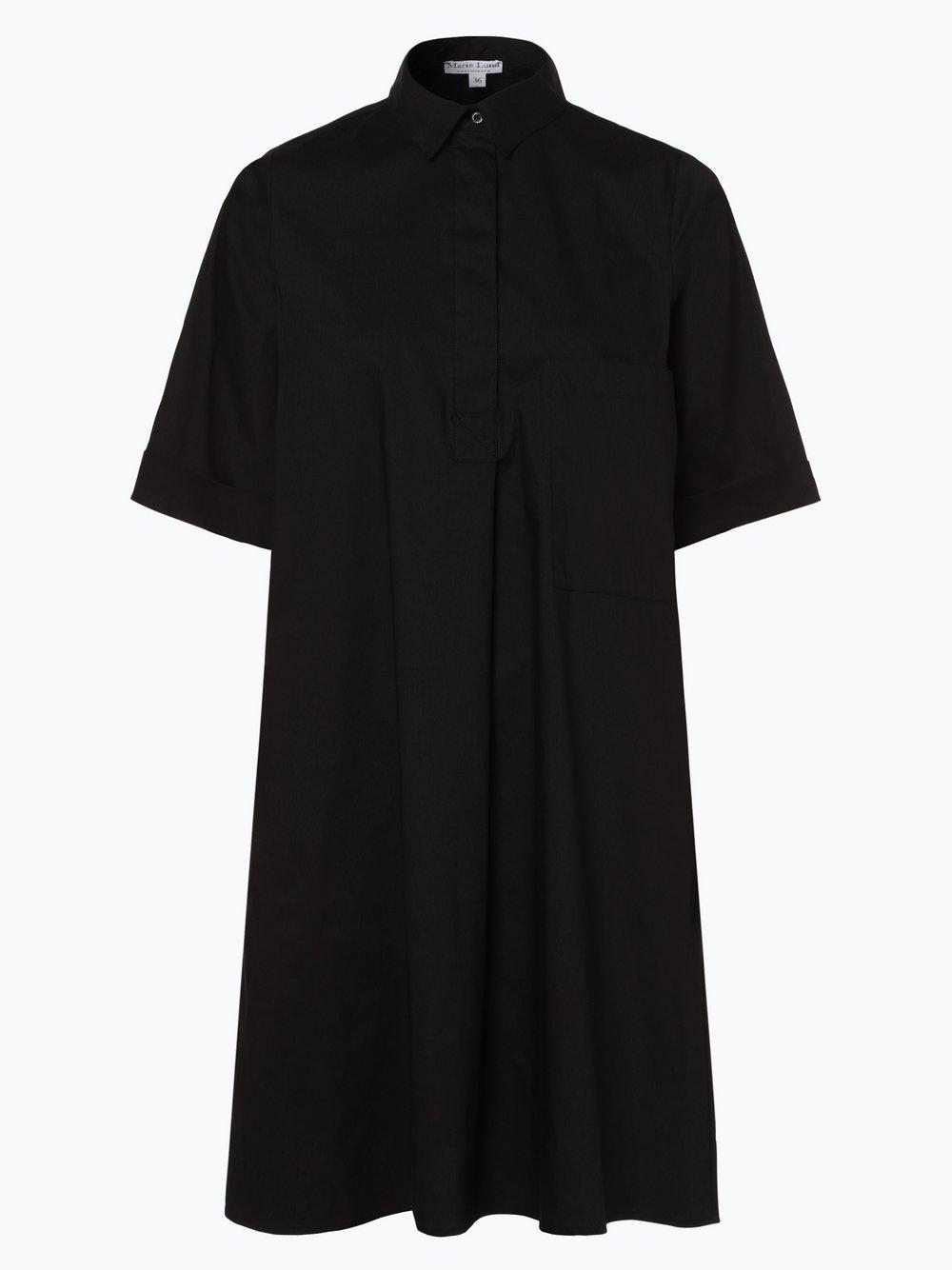 Marie Lund - Sukienka damska, czarny
