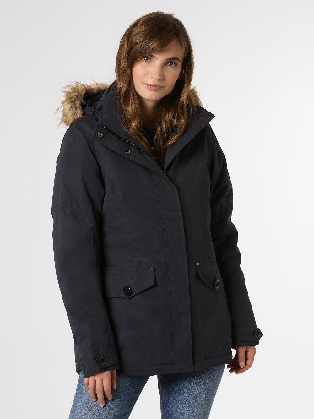 Marie Lund - Damski płaszcz funkcyjny, niebieski