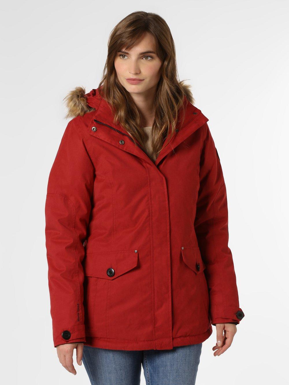 Marie Lund - Damski płaszcz funkcyjny, czerwony