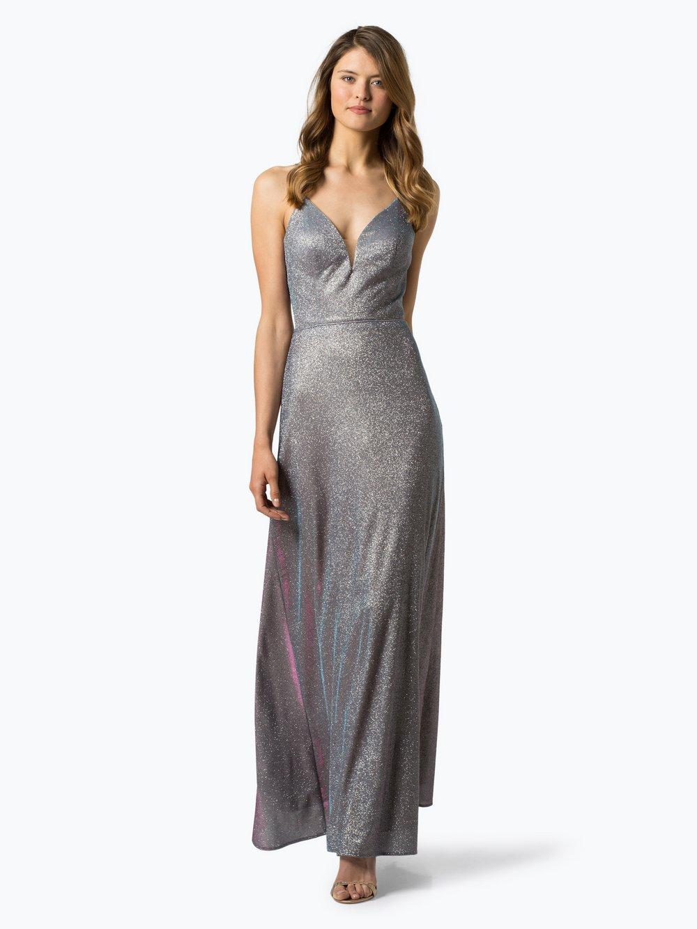 Luxuar Fashion – Damska sukienka wieczorowa, lila Van Graaf 441627-0001-00400