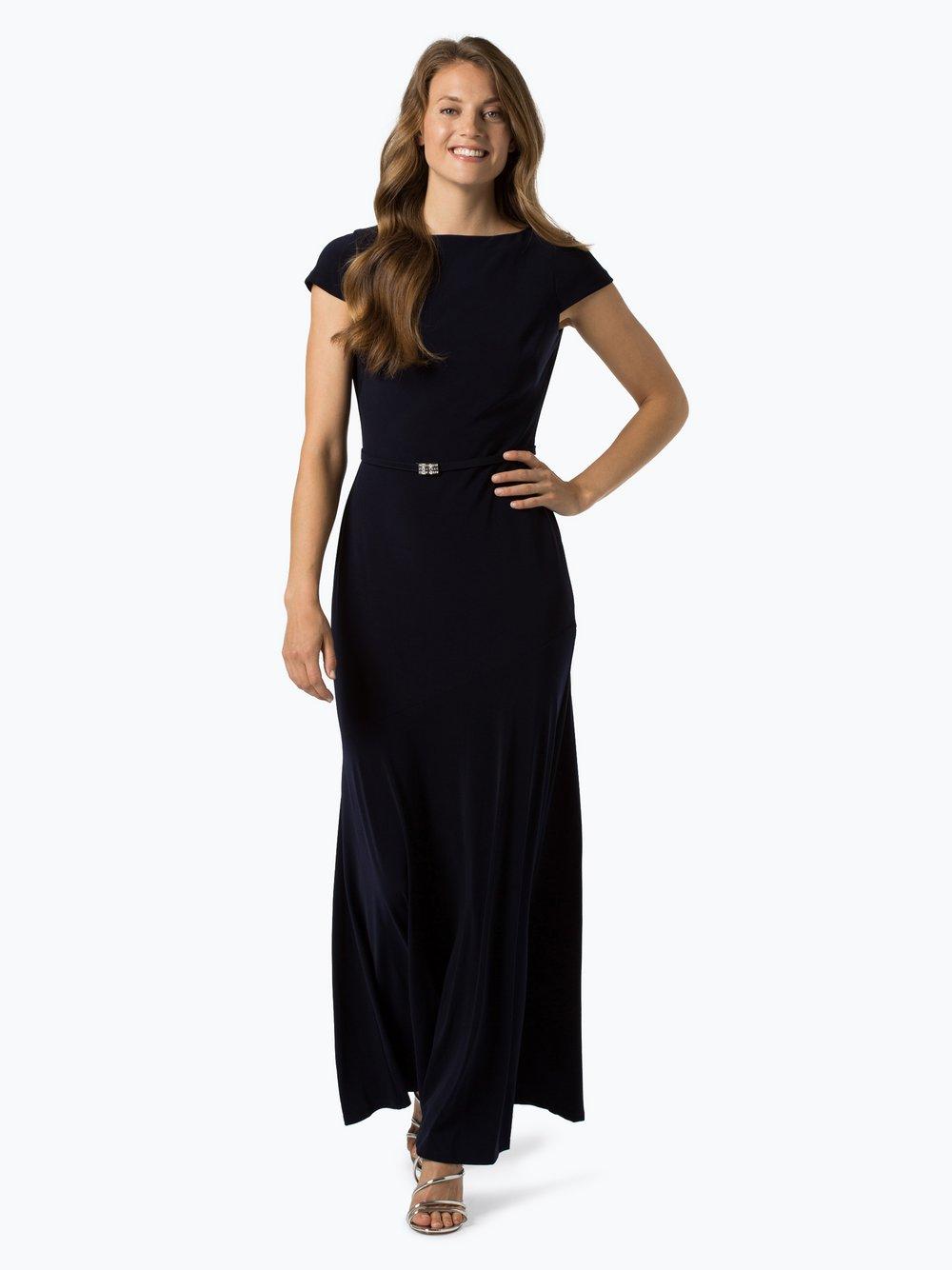 Lauren Ralph Lauren - Damska sukienka wieczorowa, niebieski