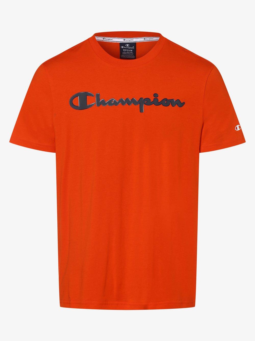 Champion - T-shirt męski, pomarańczowy