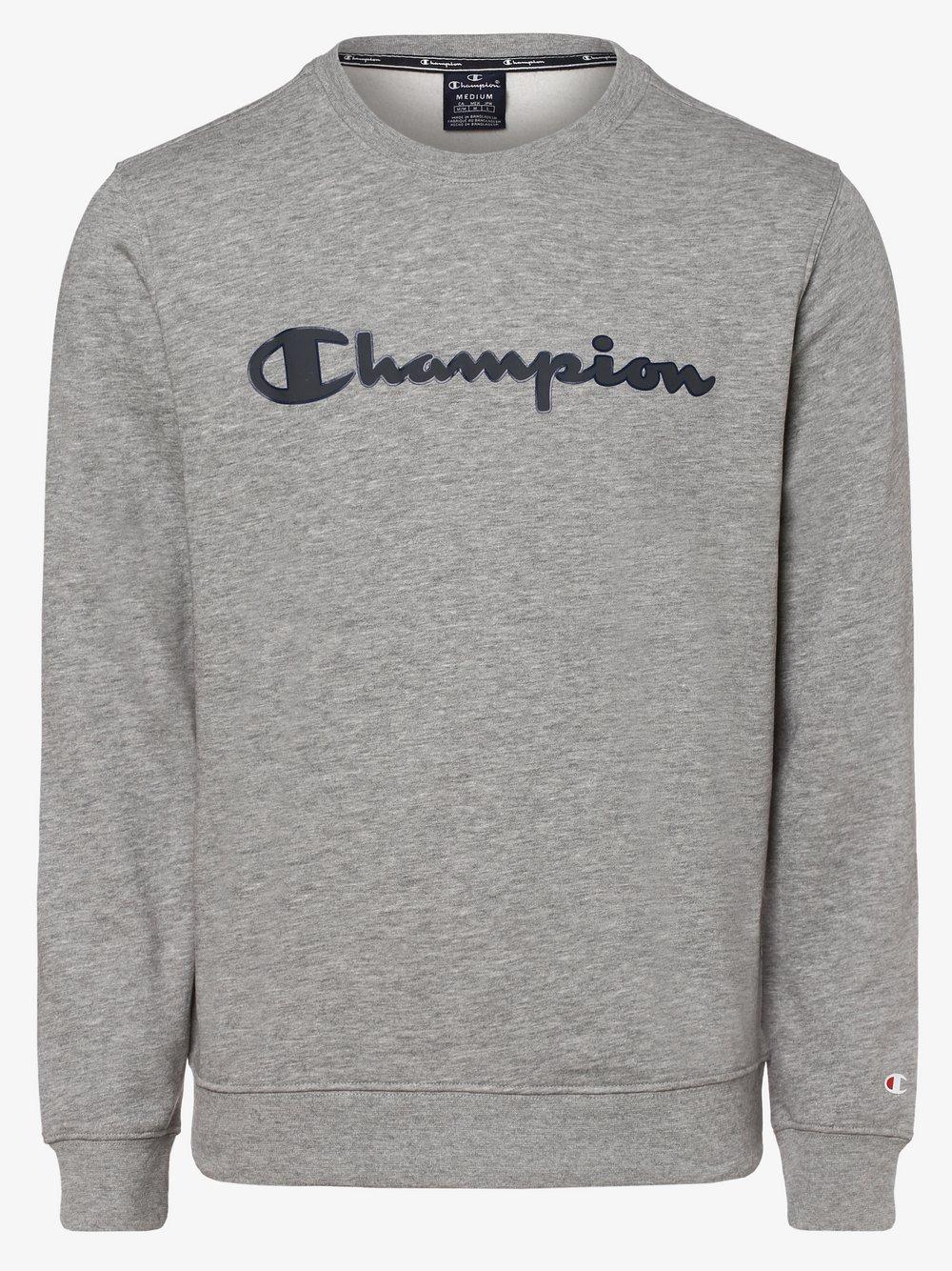 Champion - Męska bluza nierozpinana, szary